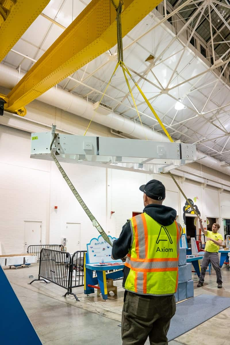 OMSI-Epicenter-Axiom-install-structural-steel-base